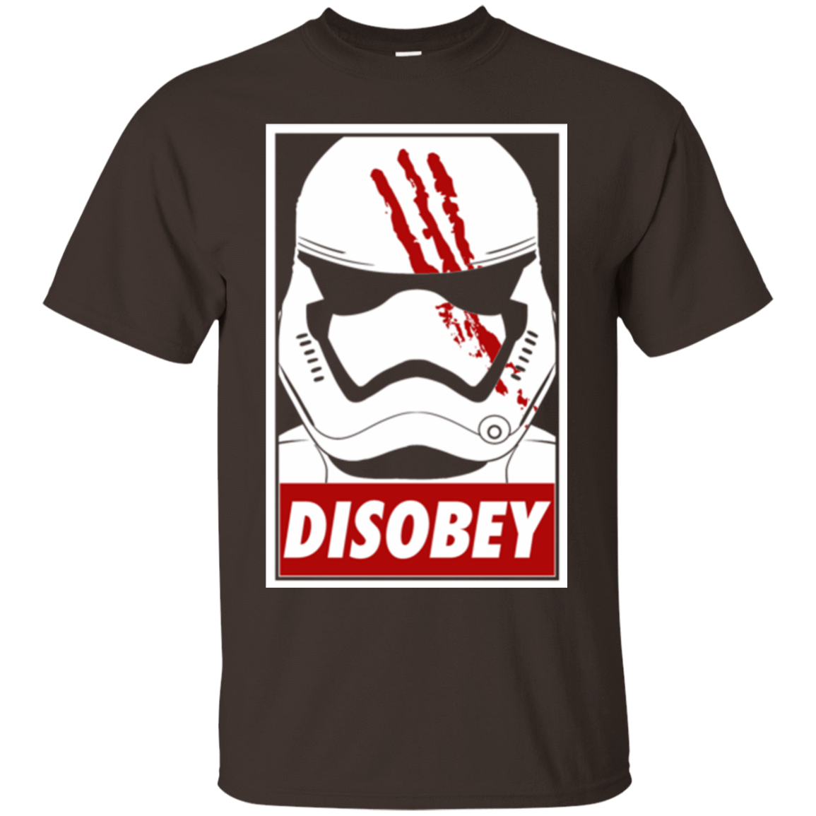 T-Shirts Dark Chocolate / Small Disobey T-Shirt