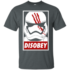 T-Shirts Dark Heather / Small Disobey T-Shirt