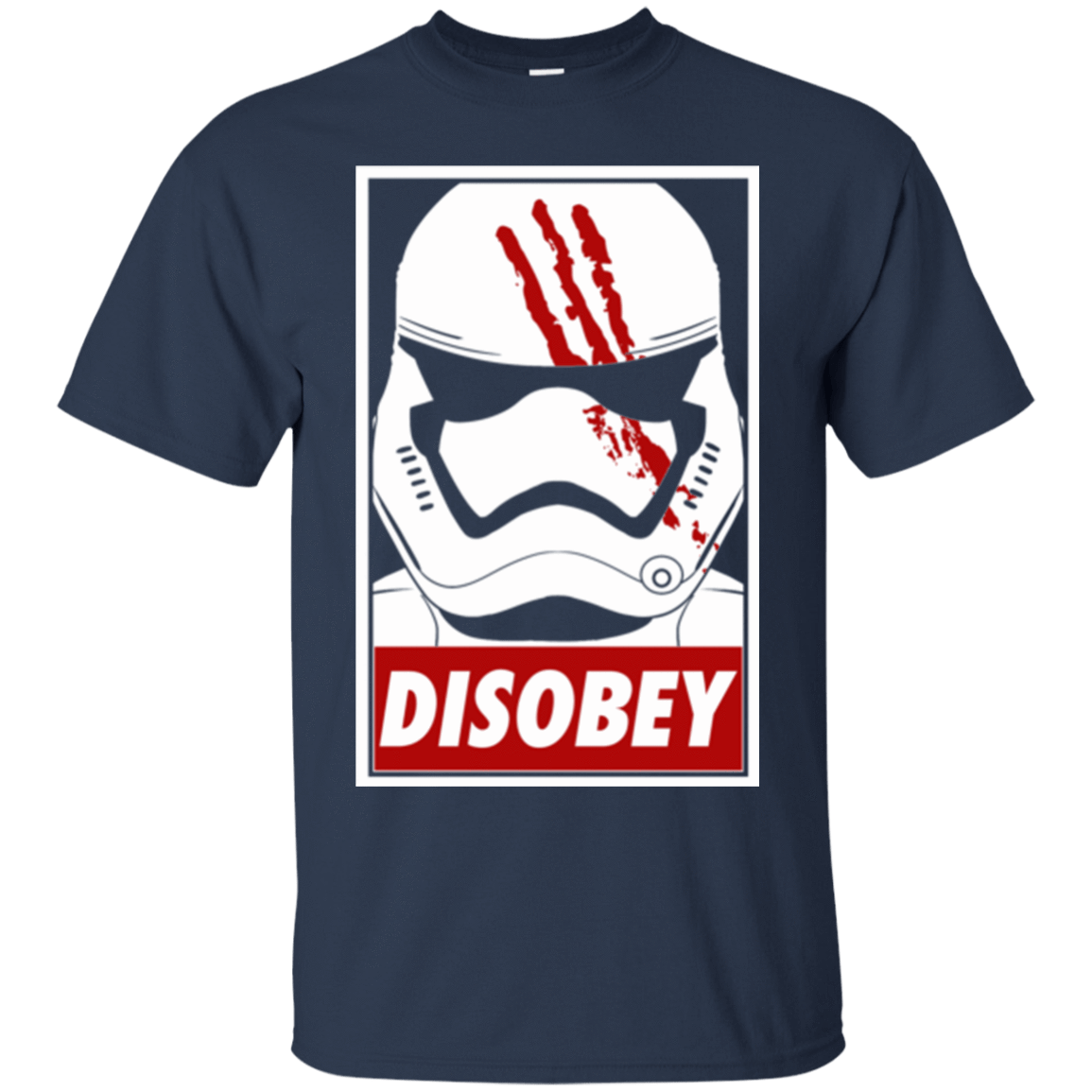 T-Shirts Navy / Small Disobey T-Shirt