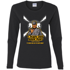T-Shirts Black / S Do Your Part Women's Long Sleeve T-Shirt