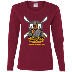 T-Shirts Cardinal / S Do Your Part Women's Long Sleeve T-Shirt