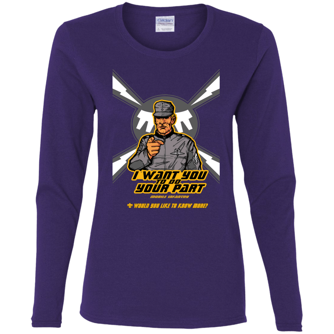 T-Shirts Purple / S Do Your Part Women's Long Sleeve T-Shirt