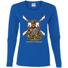 T-Shirts Royal / S Do Your Part Women's Long Sleeve T-Shirt
