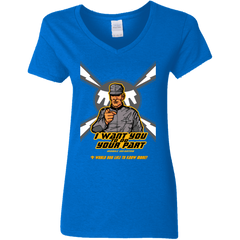 T-Shirts Royal / S Do Your Part Women's V-Neck T-Shirt