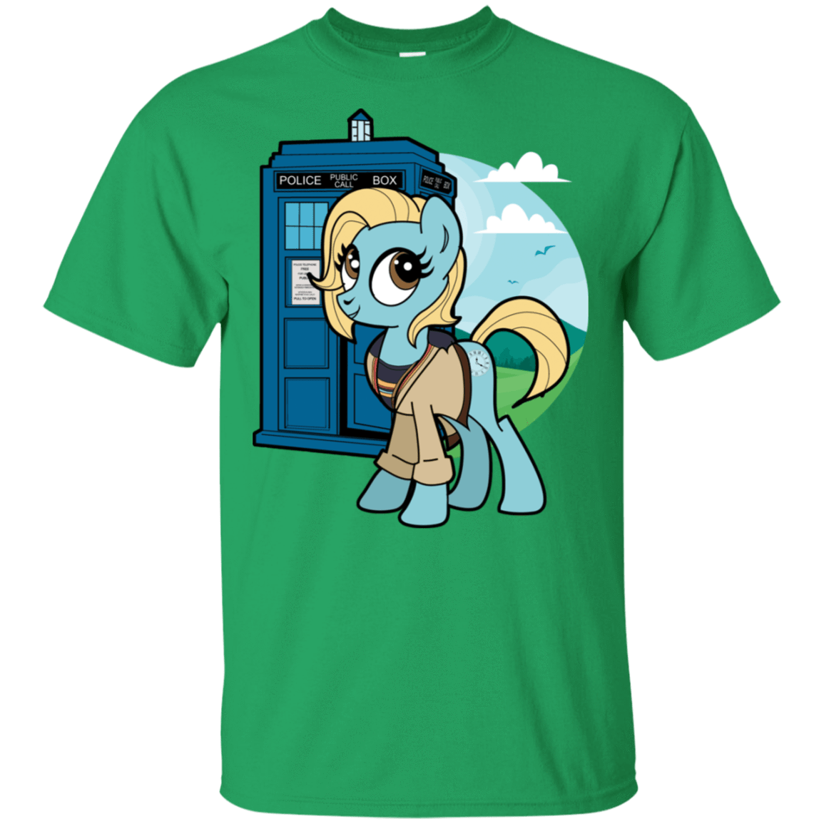 T-Shirts Irish Green / S Doctor Whooves 13 T-Shirt