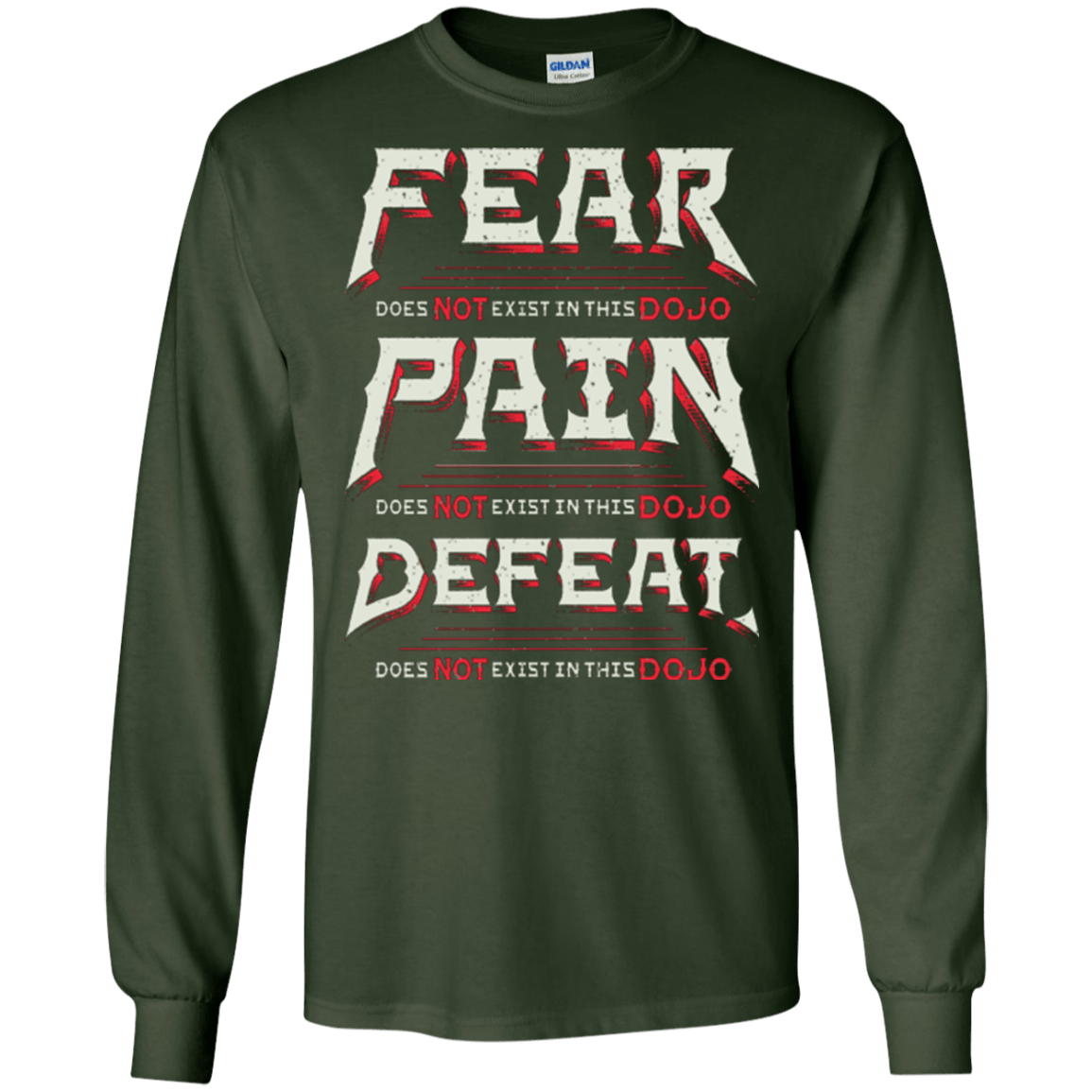T-Shirts Forest Green / S DOES NOT EXIST Men's Long Sleeve T-Shirt