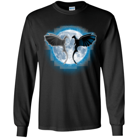 Dragons Moon Youth Long Sleeve T-Shirt