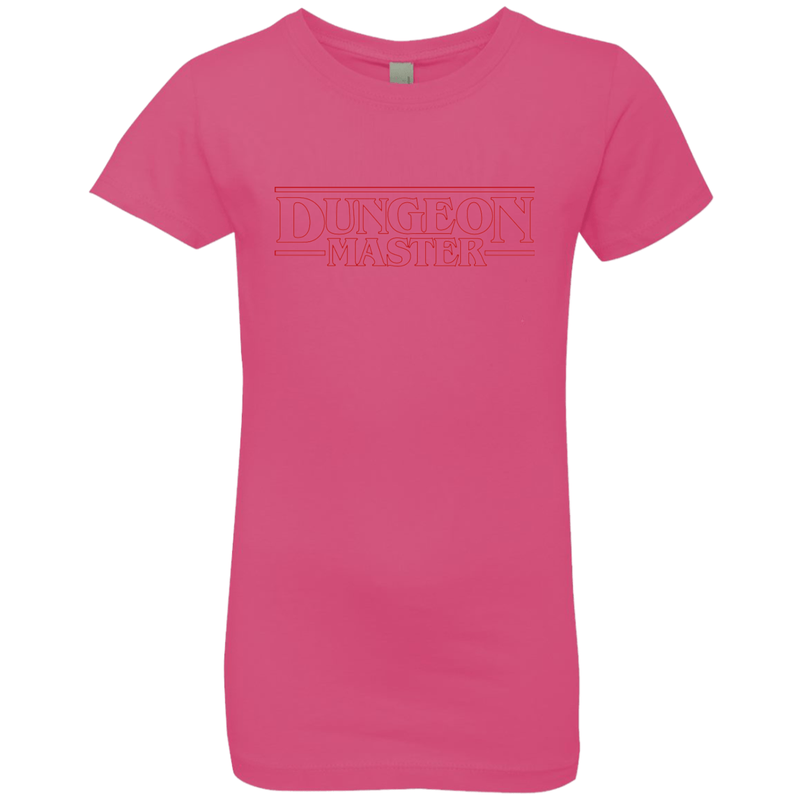 T-Shirts Hot Pink / YXS Dungeon Master Girls Premium T-Shirt