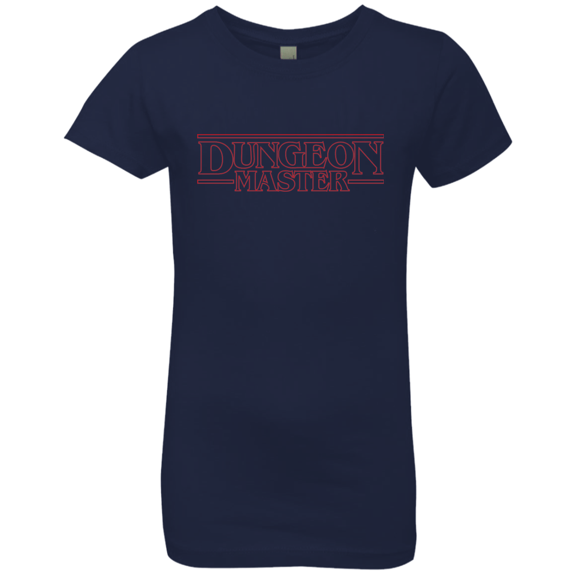 T-Shirts Midnight Navy / YXS Dungeon Master Girls Premium T-Shirt