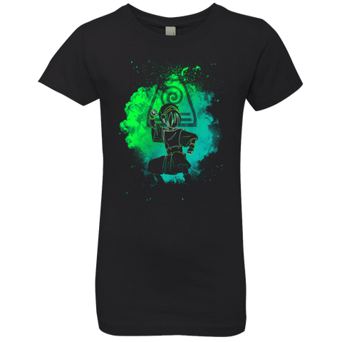 Earth Bender Soul Girls Premium T-Shirt