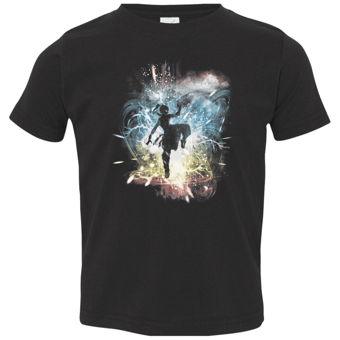 T-Shirts Black / 2T Elemental Storm-Korra Toddler Premium T-Shirt