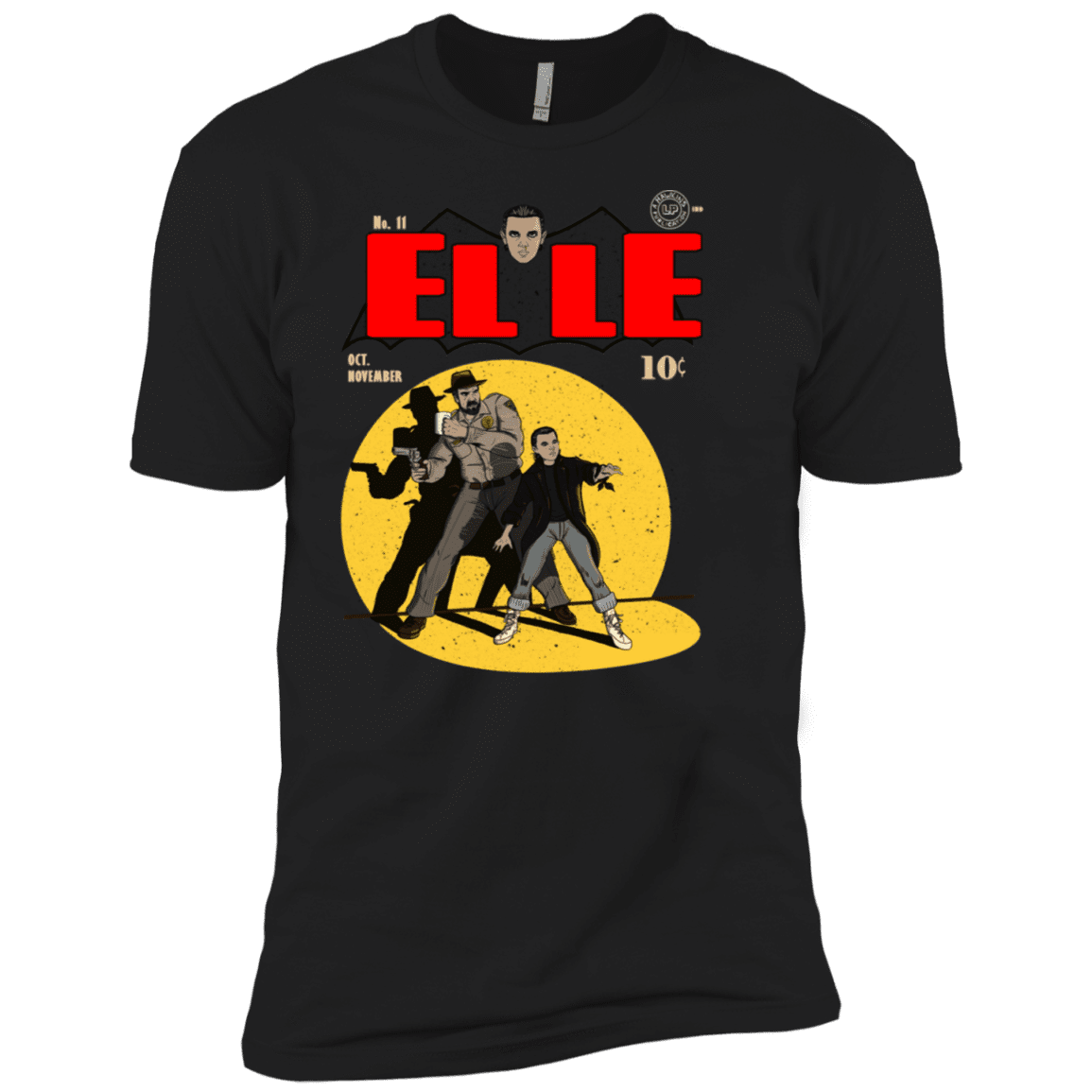 T-Shirts Black / YXS Elle N11 Boys Premium T-Shirt