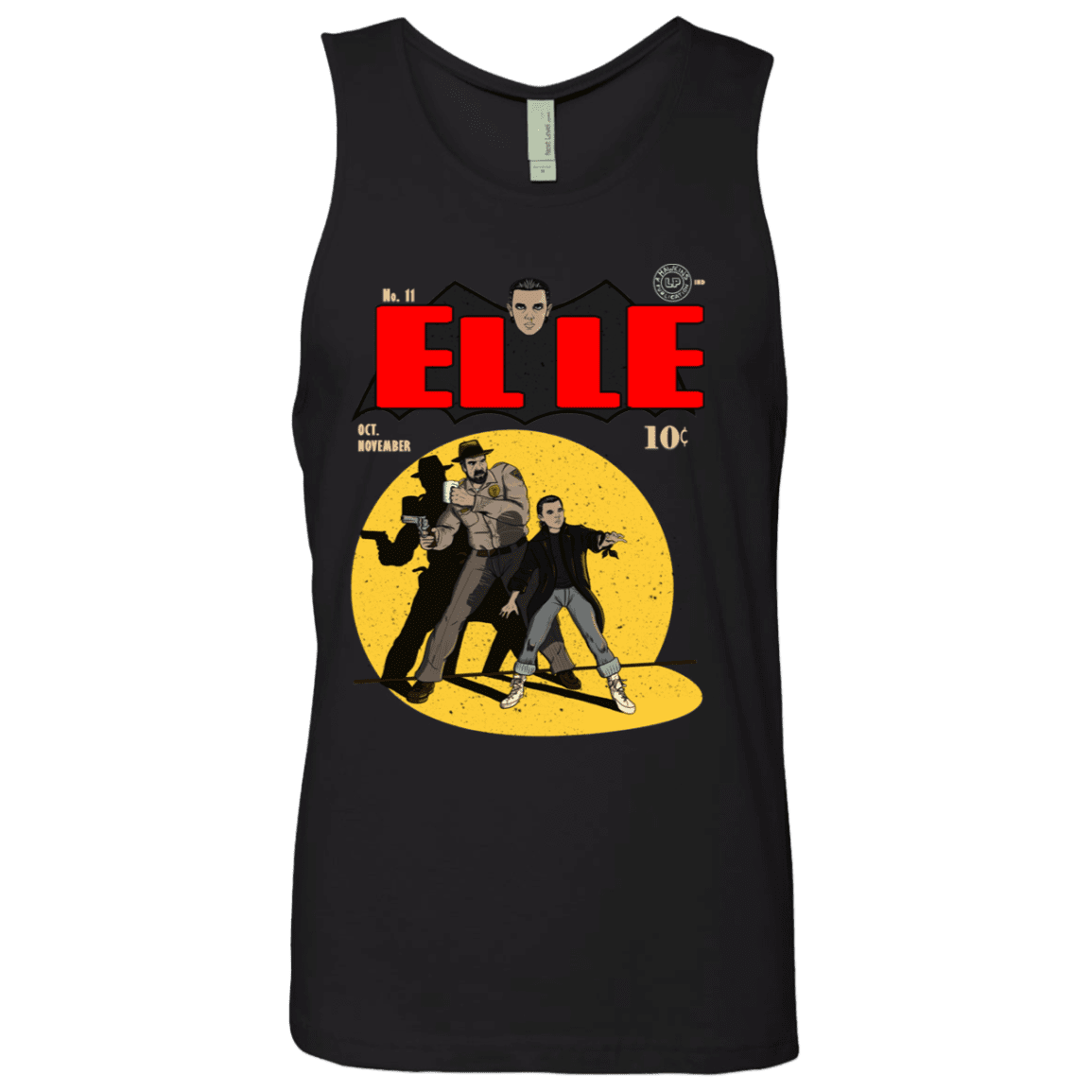 T-Shirts Black / S Elle N11 Men's Premium Tank Top