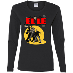 T-Shirts Black / S Elle N11 Women's Long Sleeve T-Shirt