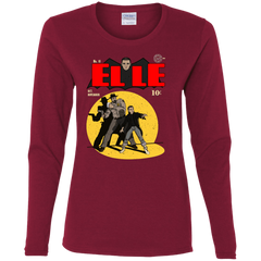 T-Shirts Cardinal / S Elle N11 Women's Long Sleeve T-Shirt