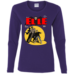 T-Shirts Purple / S Elle N11 Women's Long Sleeve T-Shirt