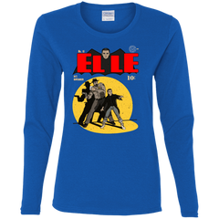 T-Shirts Royal / S Elle N11 Women's Long Sleeve T-Shirt