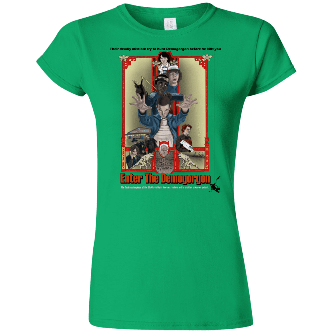 T-Shirts Irish Green / S Enter the Dragon Junior Slimmer-Fit T-Shirt