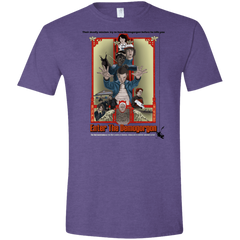 T-Shirts Heather Purple / S Enter the Dragon Men's Semi-Fitted Softstyle