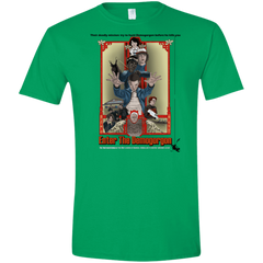 T-Shirts Irish Green / S Enter the Dragon Men's Semi-Fitted Softstyle