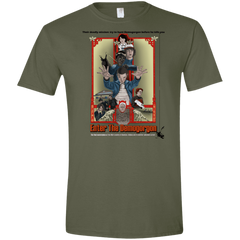 T-Shirts Military Green / S Enter the Dragon Men's Semi-Fitted Softstyle
