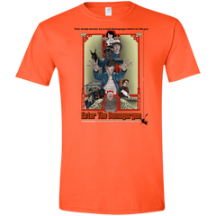 T-Shirts Orange / S Enter the Dragon Men's Semi-Fitted Softstyle