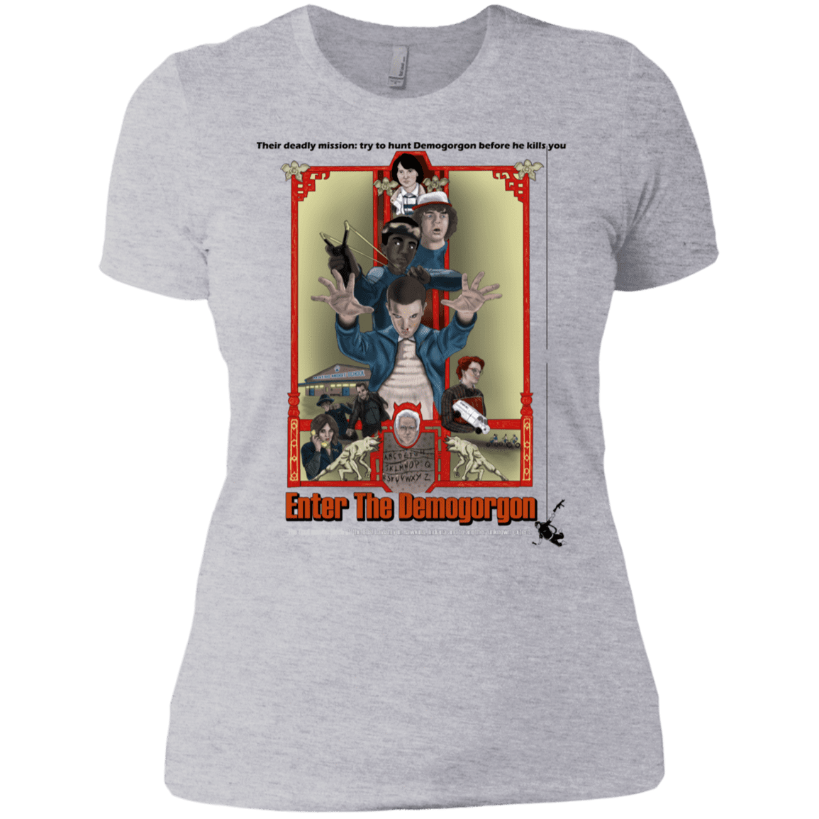 T-Shirts Heather Grey / X-Small Enter the Dragon Women's Premium T-Shirt