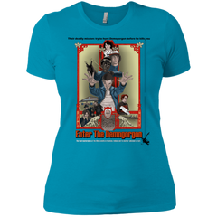 T-Shirts Turquoise / X-Small Enter the Dragon Women's Premium T-Shirt