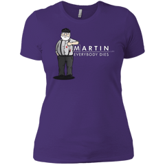 T-Shirts Purple / X-Small Everybody Dies Women's Premium T-Shirt