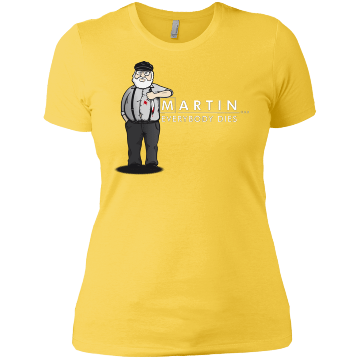 T-Shirts Vibrant Yellow / X-Small Everybody Dies Women's Premium T-Shirt