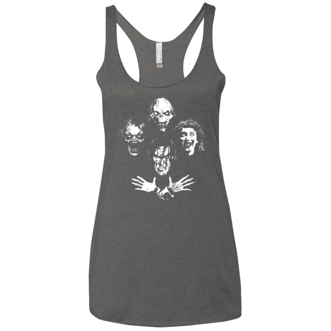 T-Shirts Premium Heather / X-Small Evil Rhapsody Women's Triblend Racerback Tank
