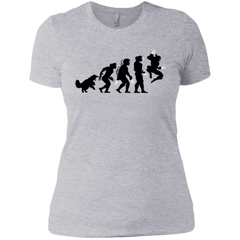 T-Shirts Heather Grey / X-Small Evolution-X Women's Premium T-Shirt
