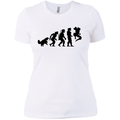 T-Shirts White / X-Small Evolution-X Women's Premium T-Shirt