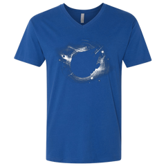 T-Shirts Royal / X-Small Falcon Men's Premium V-Neck