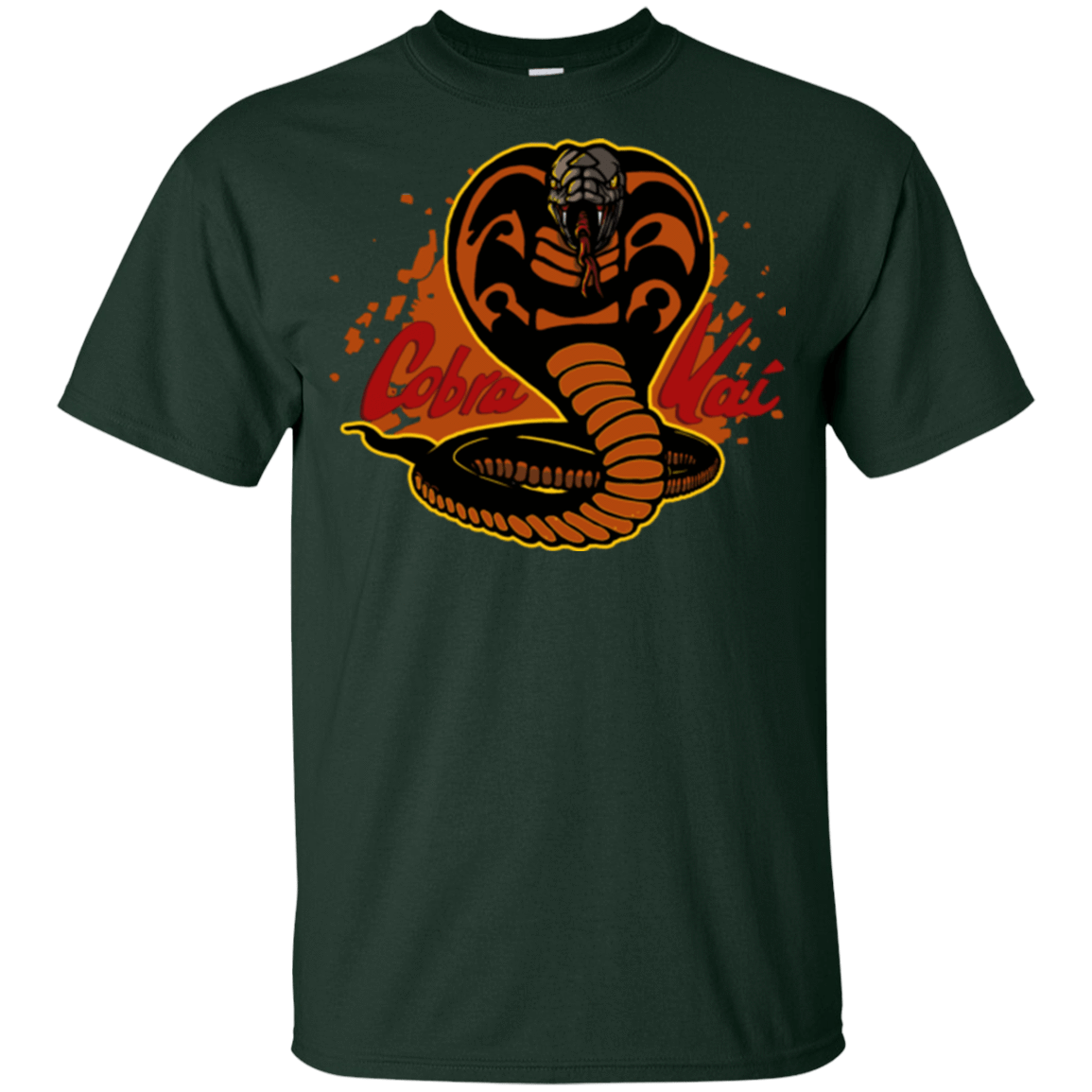 T-Shirts Forest / YXS Familiar Reptile Youth T-Shirt