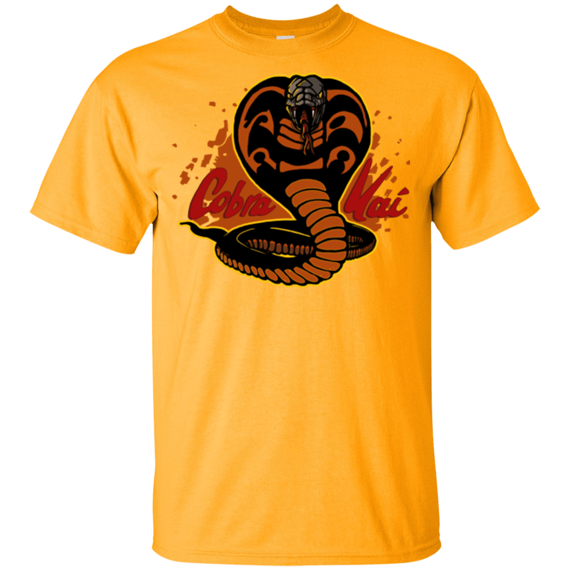 T-Shirts Gold / YXS Familiar Reptile Youth T-Shirt