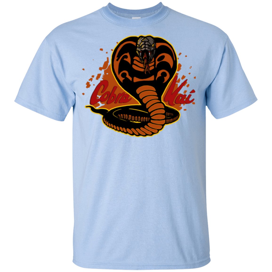 T-Shirts Light Blue / YXS Familiar Reptile Youth T-Shirt