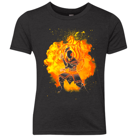 Fire Bender Soul Youth Triblend T-Shirt