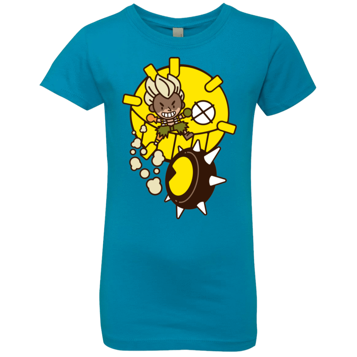 Fire in the Hole Girls Premium T-Shirt