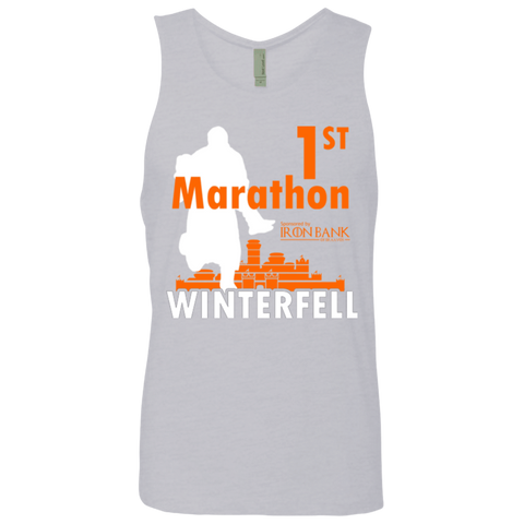 First marathon Men's Premium Tank Top