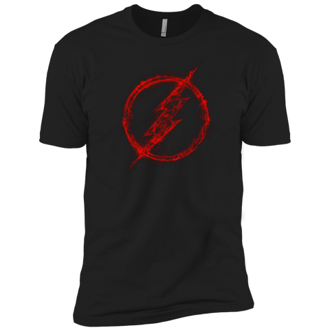 T-Shirts Black / X-Small FLASH RED SMOKE Men's Premium T-Shirt