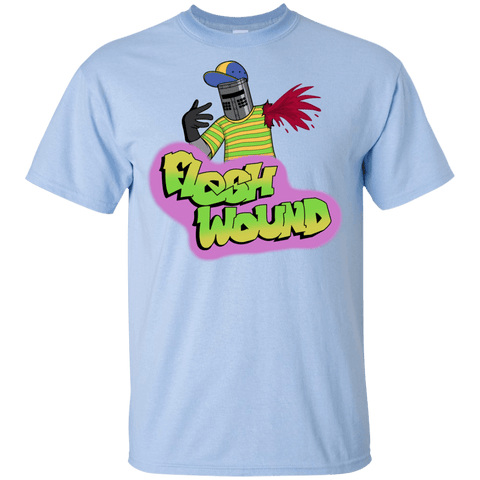T-Shirts Light Blue / YXS Flesh Wound Youth T-Shirt