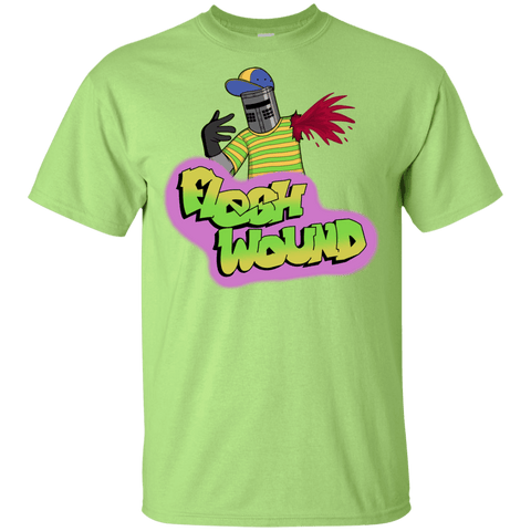 T-Shirts Mint Green / YXS Flesh Wound Youth T-Shirt
