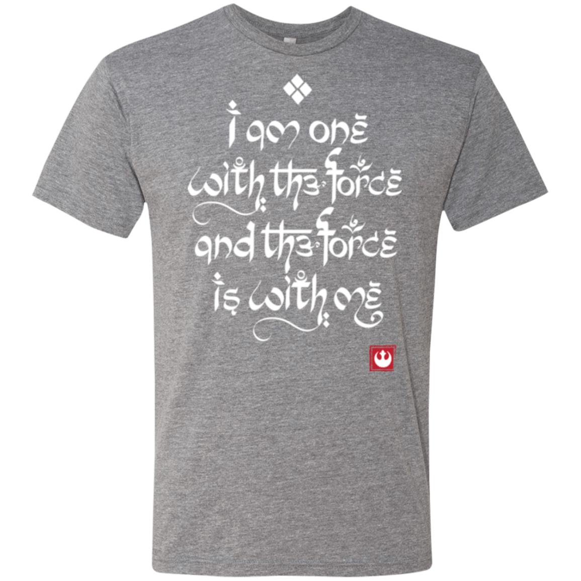 T-Shirts Premium Heather / Small Force Mantra White Men's Triblend T-Shirt
