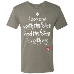 T-Shirts Venetian Grey / Small Force Mantra White Men's Triblend T-Shirt
