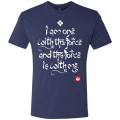 T-Shirts Vintage Navy / Small Force Mantra White Men's Triblend T-Shirt