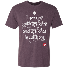 T-Shirts Vintage Purple / Small Force Mantra White Men's Triblend T-Shirt