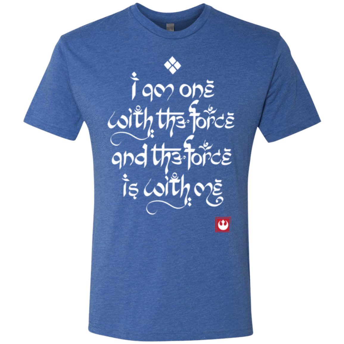 T-Shirts Vintage Royal / Small Force Mantra White Men's Triblend T-Shirt