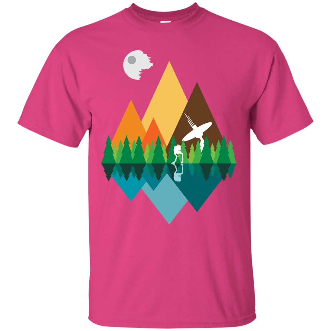 T-Shirts Heliconia / Small Forest View T-Shirt