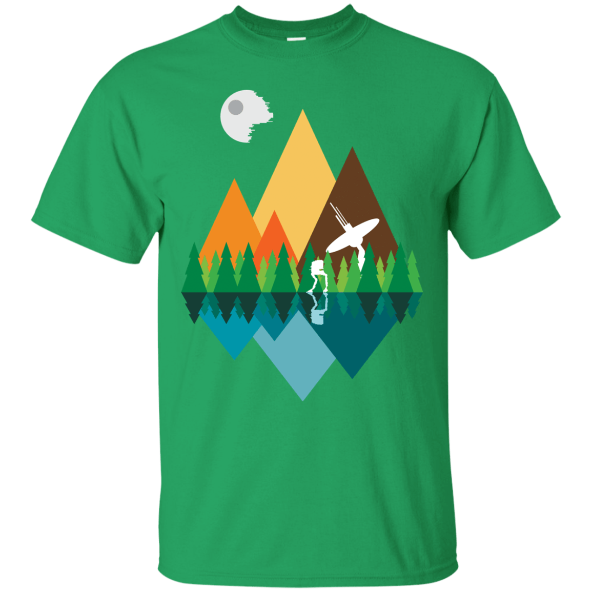 T-Shirts Irish Green / Small Forest View T-Shirt